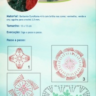 Receita - Flor Natalina