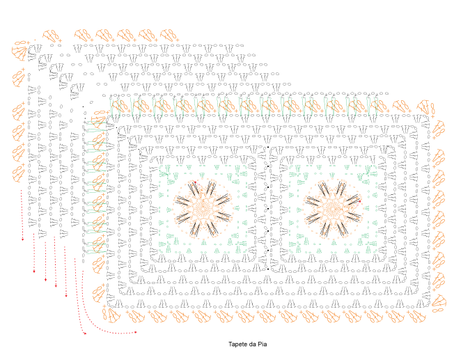 Jogo-de-Banheiro-com-Flores-Laranjas